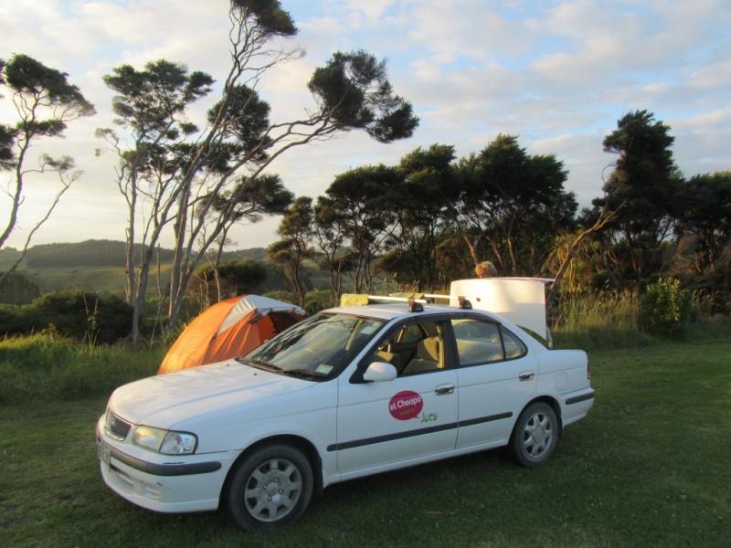 Unser kleiner Nissan Sunny