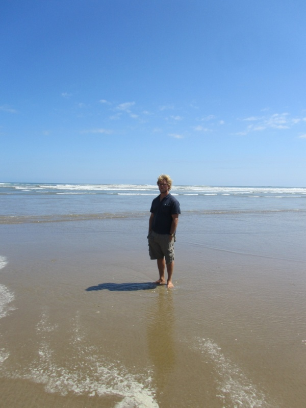 Henning am 90 Mile Beach