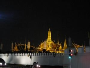 Wat Phra Keo bei Nacht