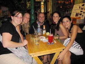 Ich, Katy, Paul, Sally und Alberta