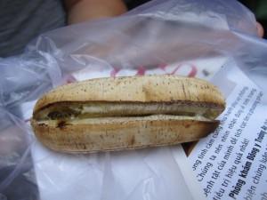 Gergrillte Banane - ich könnt mich reinlegen!