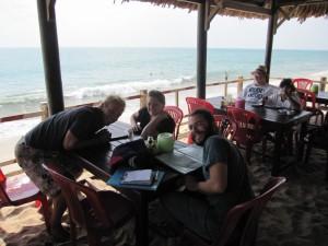 Mui Ne - Frühstück am Strand