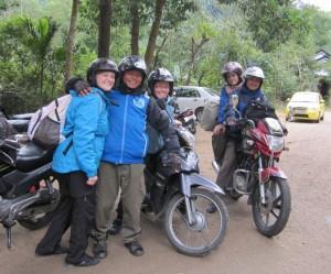 Ich, Bin, Rianne, Camille und Phuong