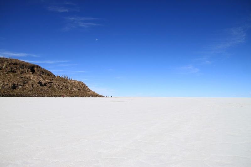 Isla del Pescado im Nichts der Wüste