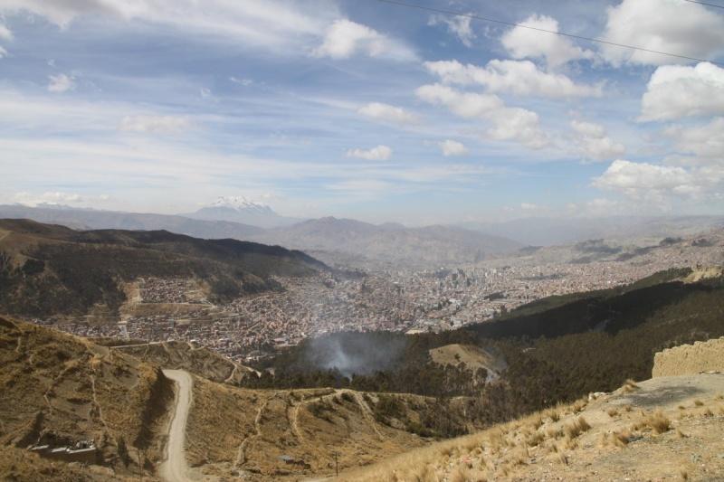 La Paz und El Alto (rechts)