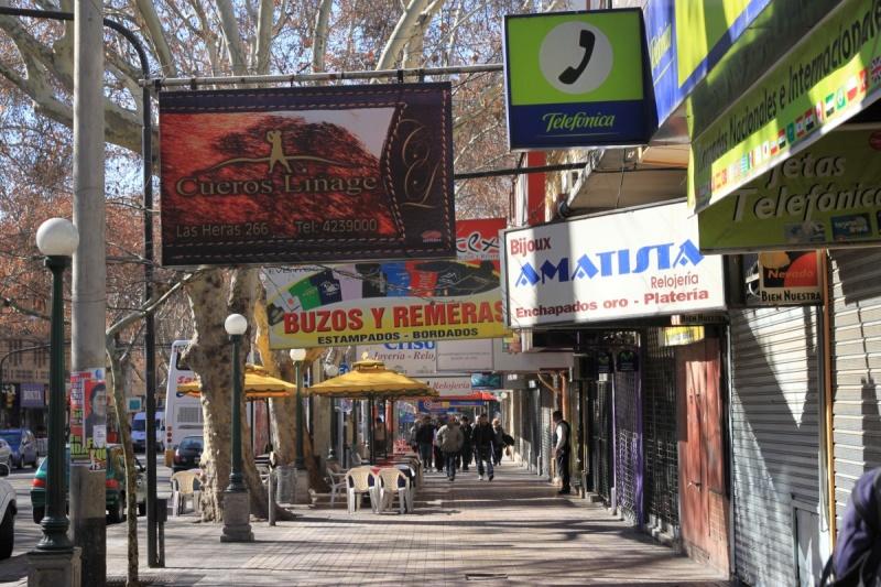 Werbung in Mendoza