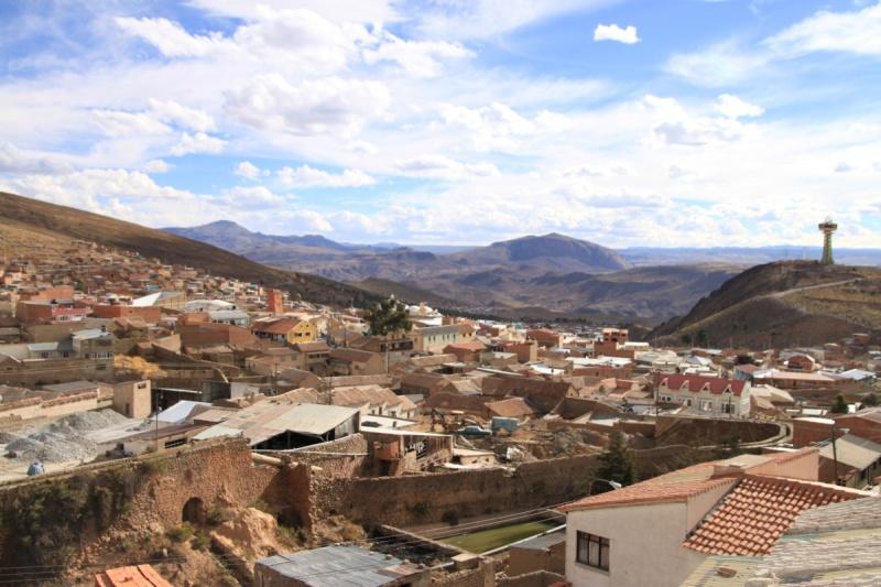 Blick über Potosí