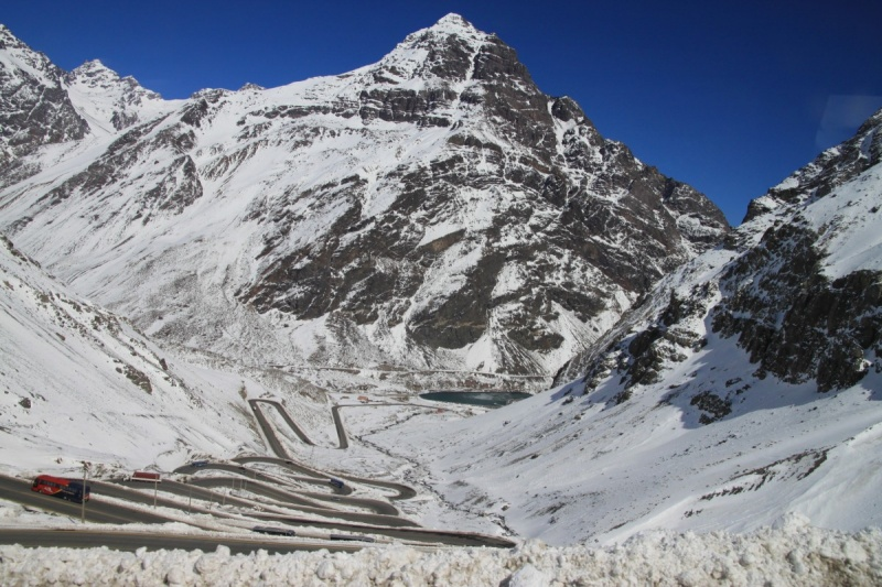 Grenzpass am Aconcagua