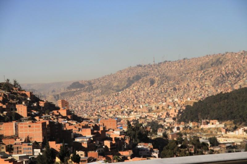 Die (armen) Berghänge von La Paz