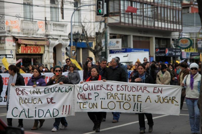 La Marcha, Valparaíso
