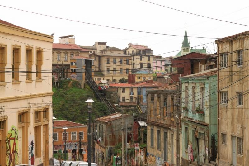 Fahrstühle in Valparaíso