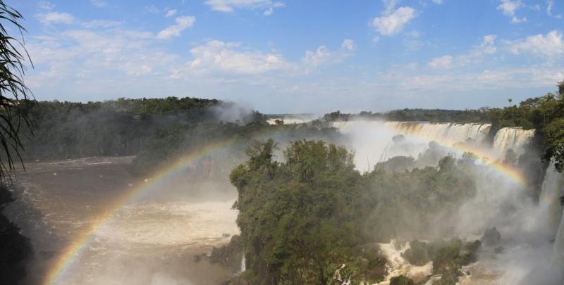 Panorama von Iguazú