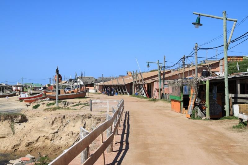 Fischerhaven von Punta del Diablo