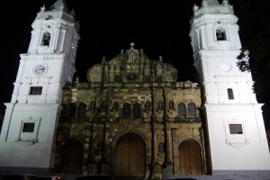 22- Panama Altstadt ´by night´- Kathedrale
