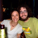 Natasha and Kevin our travel mates from Canada