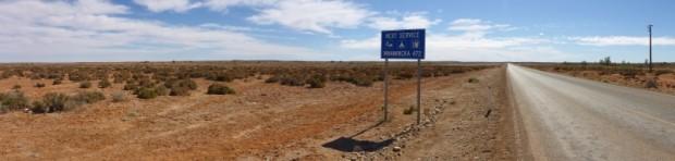 Willkommen im Nirgendwo knapp 500km ohne Spuren der Civilisation