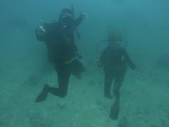 30m unter dem Meer