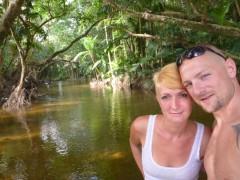 CrocodileCreek 2km vor der Meeresmündung