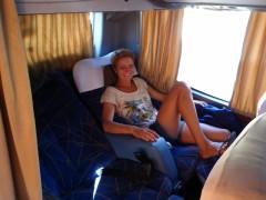 Eine Busfahrt- die ist lustig....