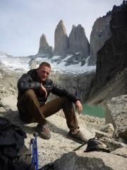 Torres del Paine mit Gletschersee