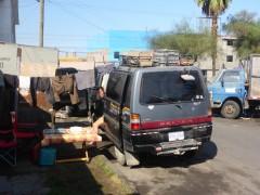 2Wochen Camping vor der Werkstatt da muss dann mal gewaschen werden