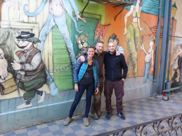 Endlich zu Dritt in Buenos Aires