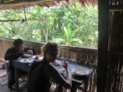 Frühstück bei Hempels...wie immer Fisch