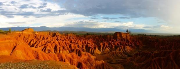 Die Tatacoa Wüste