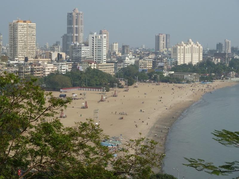 Strand von Mumbai