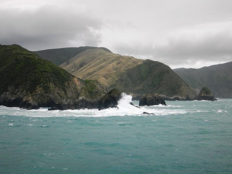 Faehrfahrt durch die Marlborough Sounds