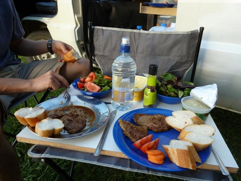 ...eine unserer vielen leckeren Mahlzeiten :-)