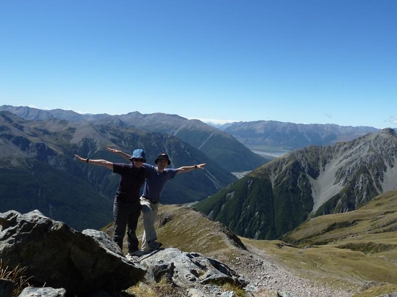 Juhuu - endlich oben auf den 1.833m!