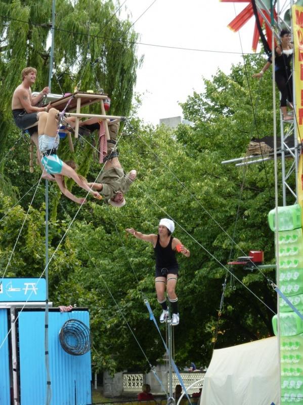 """""""Buskers Festival"""", Christchurch"""