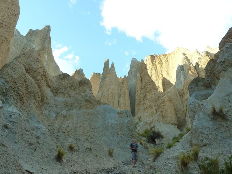 """""""Clay Cliffs"""", irgendwo zwischen Lake Pukaki und Ostkueste"""