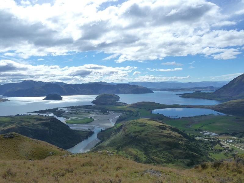 """Rundwanderweg zum """"Lake Diamond"""" und auf den """"Rocky Mountain"""" mit fantastischem Ausblick auf den """"Lake Wanaka"""" :)"""