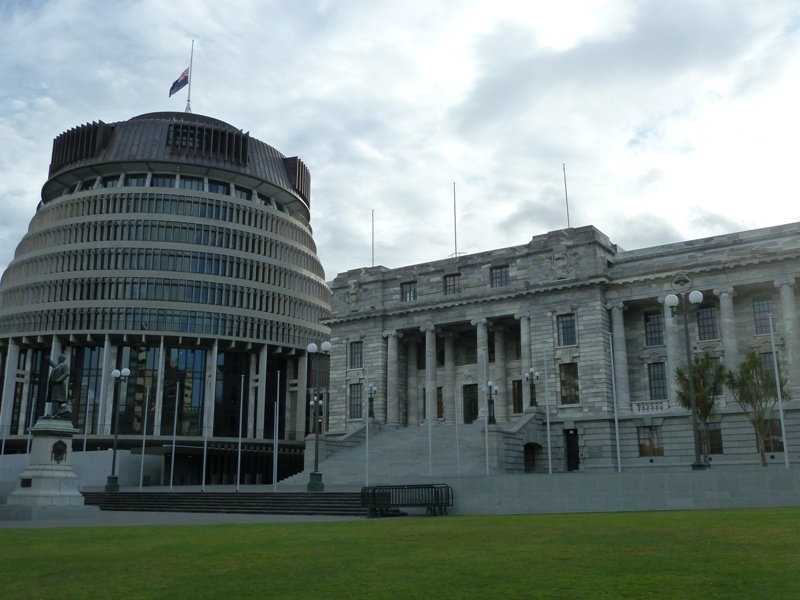 """Parliament Houses"", Wellington"