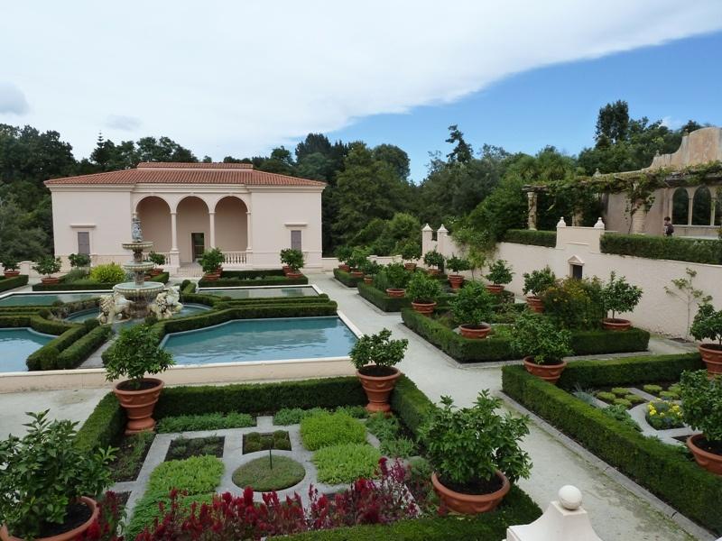 """""""italienischer Garten"""" in den Paradiesgaerten von Hamilton"""