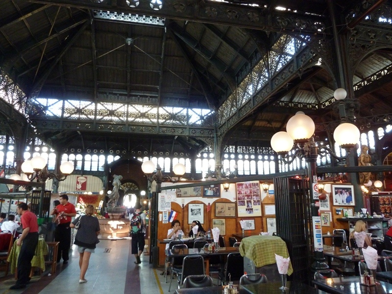 ¨Mercado Central¨ (Fischmarkt und -restaurants), Santiago de Chile