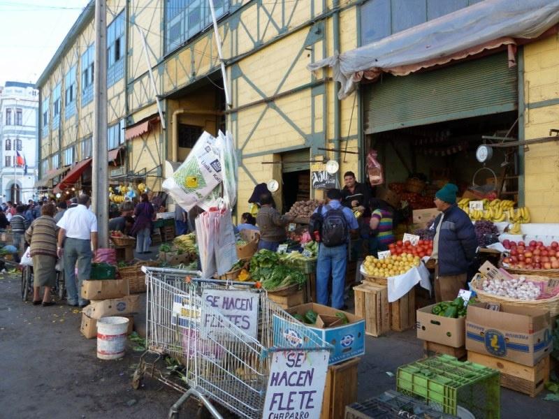 """Obst und Gemuesemarkt """"Mercado Cardonal"""""""