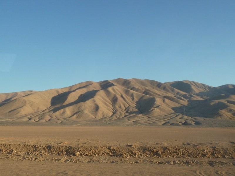 ...die Landschaft wurde immer trockener...