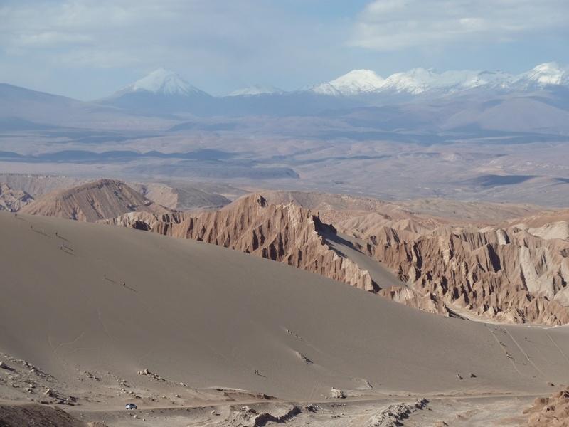 """""""Death Valley"""" (die kleinen Punkte auf der Sandduene sind Menschen!)"""