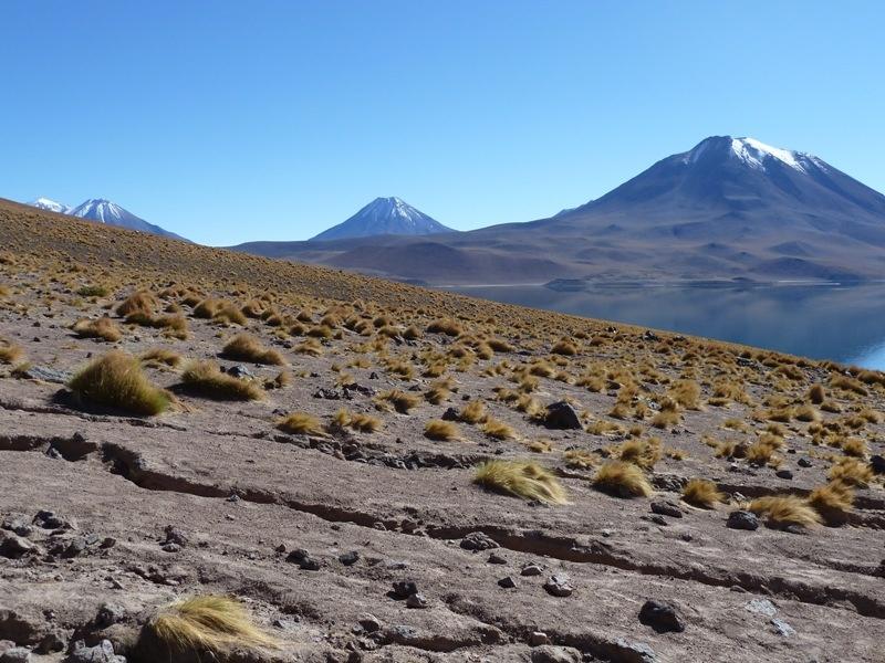 perfekt geformte 6000 Meter Vulkane