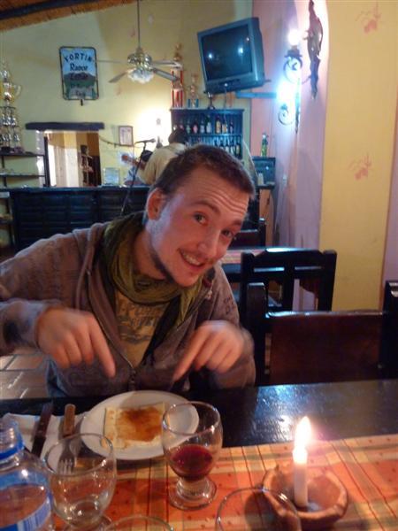 Kaese mit Marmelade - ja nicht alles ist lecker hier ;)