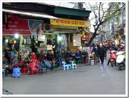 Kneipe in Hanoi