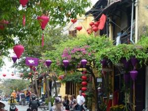 Straße in Hoi An