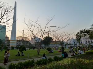 Park und Siegessäule
