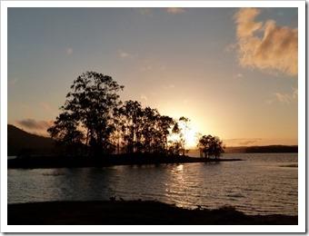 Sonnenaufgang am Lake Tinaroo