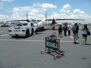 take-off to Busuanga - Coron