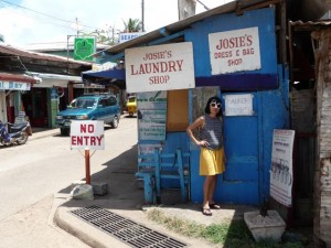 a very good laundry service - 1kg for 60,-PHP