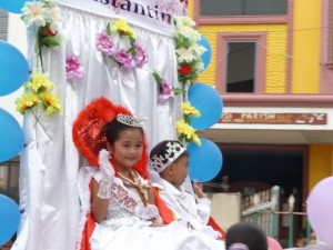 Reyna Elena St. Constantin Procession